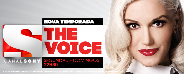 Propaganda Canal Sony - The Voice (Toda Semana)