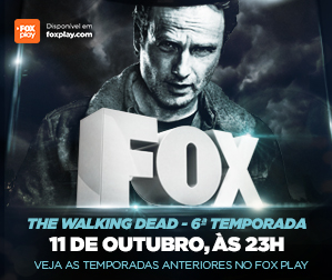 Propaganda FOX - The Walking Dead