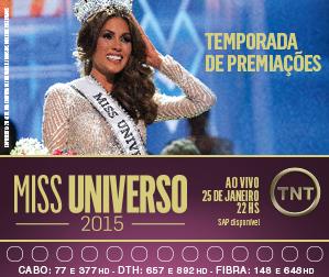 Propaganda TNT - Miss Universo 2015