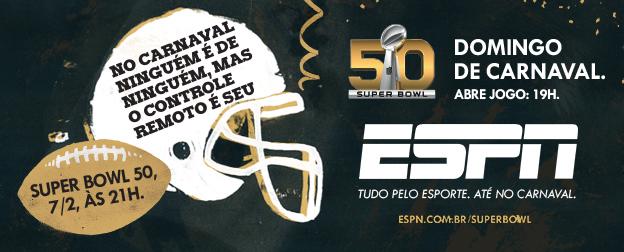Propaganda ESPN - Super Bowl 50