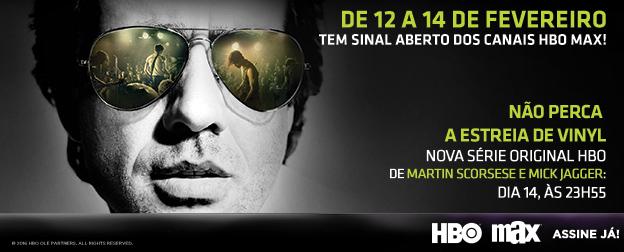 Propaganda HBO MAX - Sinal Aberto Vinyl