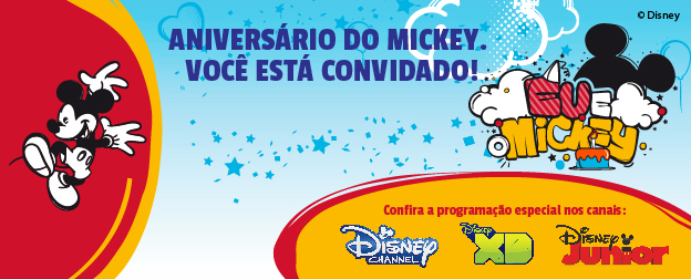 Disney Junior - Aniversario Do Mickey - 624x252