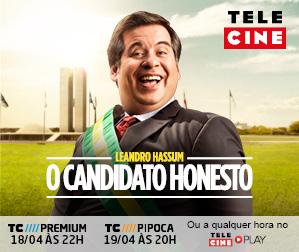 Telecine - O Candidato Honesto - 299x252