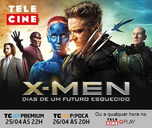 Telecine - X-Men Dias De Um Futuro Esquecido - 299x252