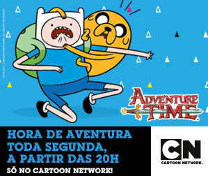 Cartoon Network - Hora de Aventura - 299x252
