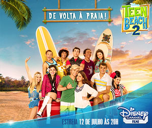 Disney Channel - Teen Beach 2 - 299x252